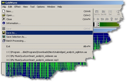 How to convert audible files to mp3