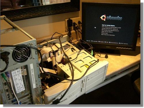 Installing Ubuntu Linux on an old Pentium Computer