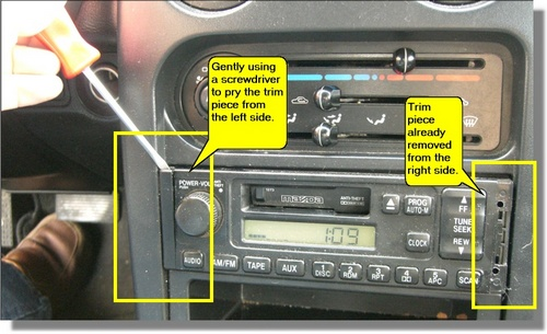 Remove and replace mazda miata radio pictures chuckegg com on 1991 mazda miata radio wiring diagram Miata Cooling System Diagram 1991 Mazda Miata Engine