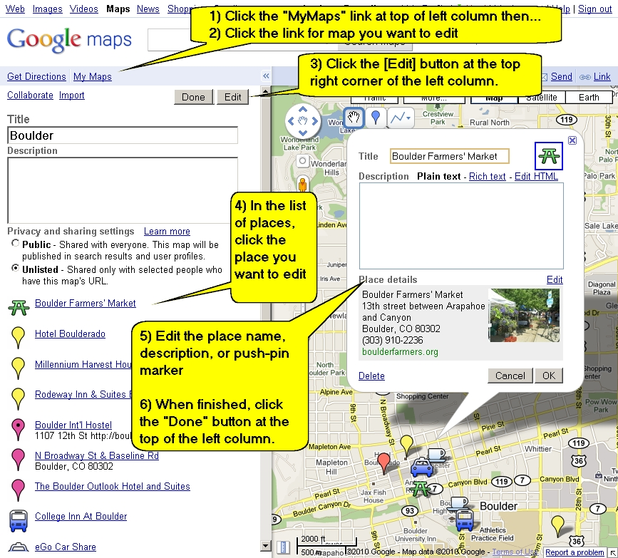 How To Use Google My Maps To Create And Share Your Own