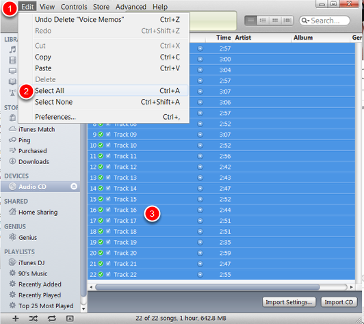 wpid2582-Many_CD_Tracks_into_One_iTunes__Edit__Select_All.png