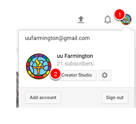 How To Change The Thumbnail On A Youtube Video Creator Studio