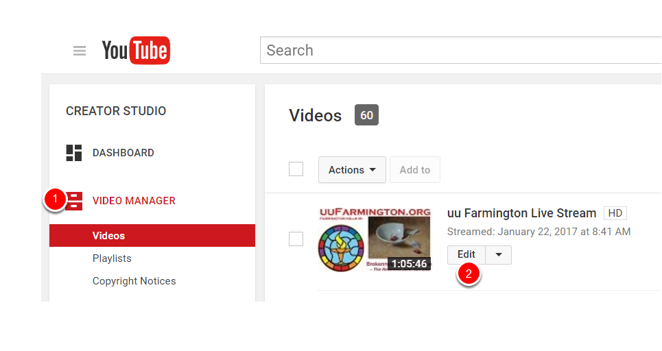How To Edit, Trim or Delete a YouTube Video (Creator Studio